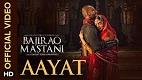 Aayat Bajirao Mastani Song Video