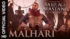 Malhari Bajirao Mastani Song Video
