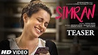 Simran Movie Teaser Download
