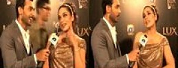 Meera Dressing in Lux Style Award Shocked every one