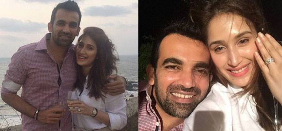 Zaheer Khan and Actress Sagrika Engagement