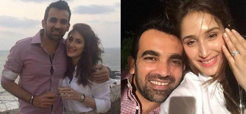 Zaheer Khan and Actress Sagrika Engagement