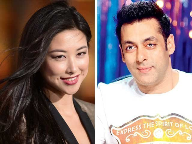 Salman Khan Gives High Bred Puppy to Chinese Actress