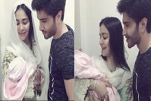 Feroz Khan And Humaima Blessed With Niece
