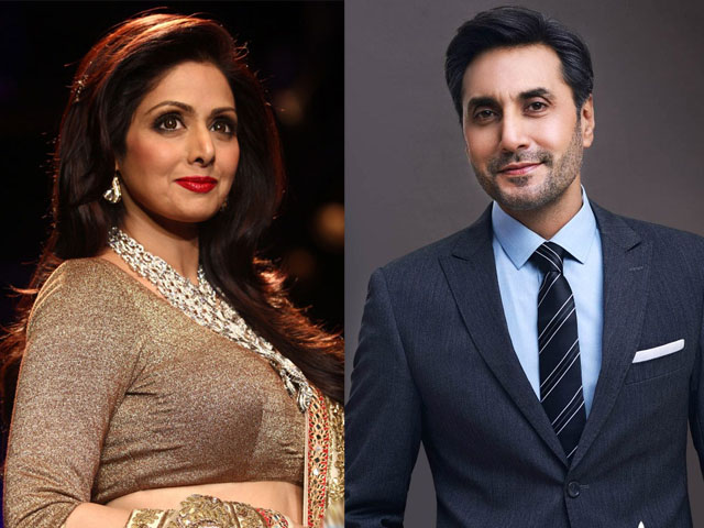Adnan Siddiqui Performs Role of Husband of Sri Devi in Movie