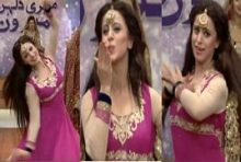 Noor's Sister Faria Dance in Morning Show