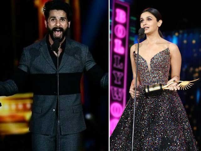 Shahid Kapoor and Alia Bhatt wins 18th IIFA Awards