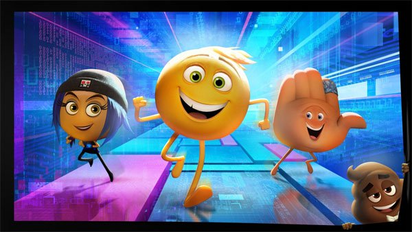 The Emoji Movie 3D Animated Movie Trailer