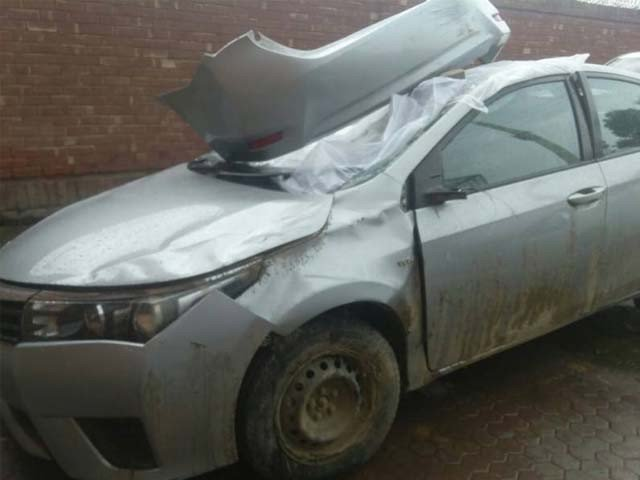 Intoxicated Actress In Multan Kills A Person In Car Accident