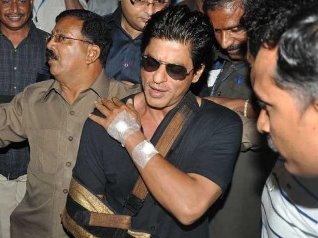 Shah Rukh Khan Once Again Becomes Injured