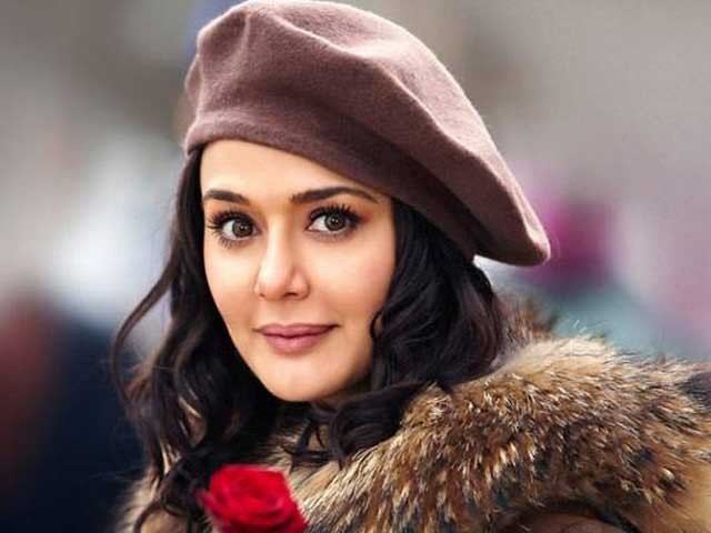 How Prety Zinta Looked before Entry in Film Industry