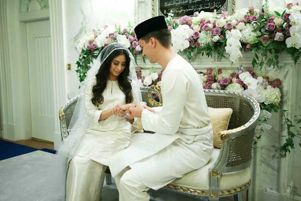 Malaysian Royal Family Wedding