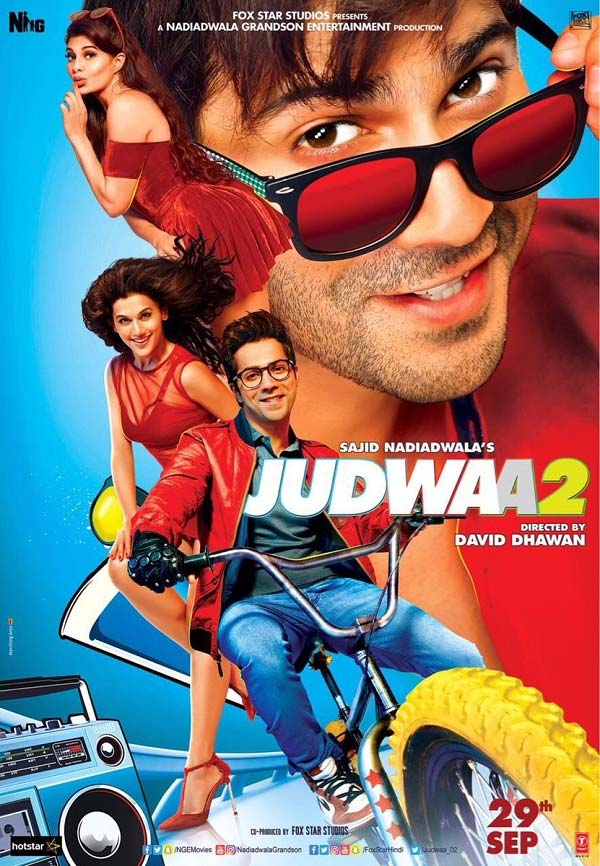 New trailer of Bollywood film Judwaa 2