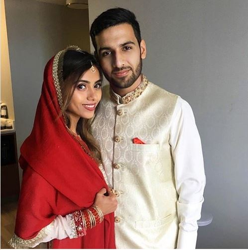 Zaid Ali Pictures with His Wife