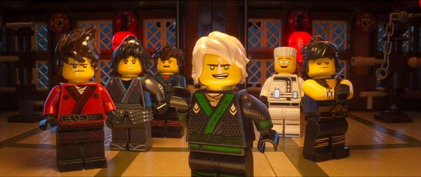Hollywood Animated Movie The Lego Ninjago Trailer