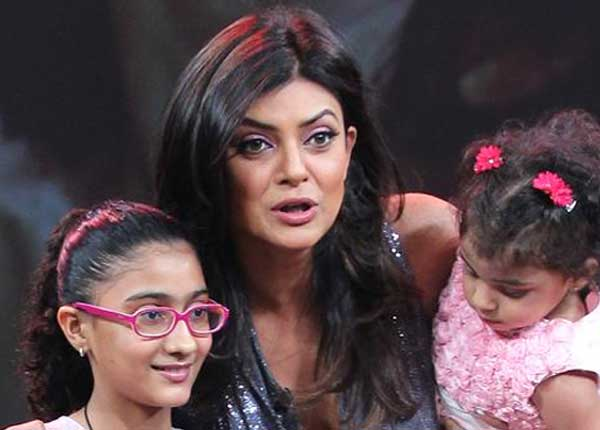 Daughter of Sushmita Sen