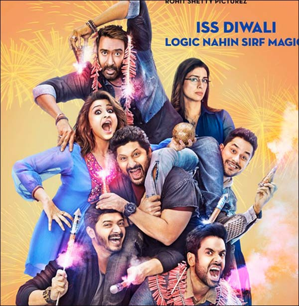 Comedy Movie Golmaal Again Trailer