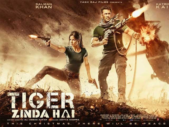 Tiger Zinda Hai Poster Popular on Social Media