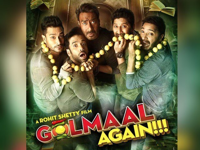 Golmaal Again Successful Film Of 2017
