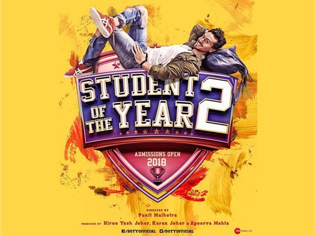 Karan Johar Film Student Of The Year 2 Poster Released