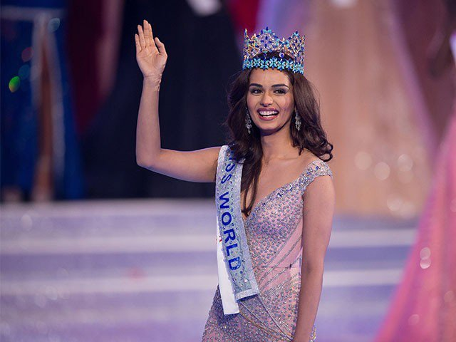 Manushi Chhillar The Miss World