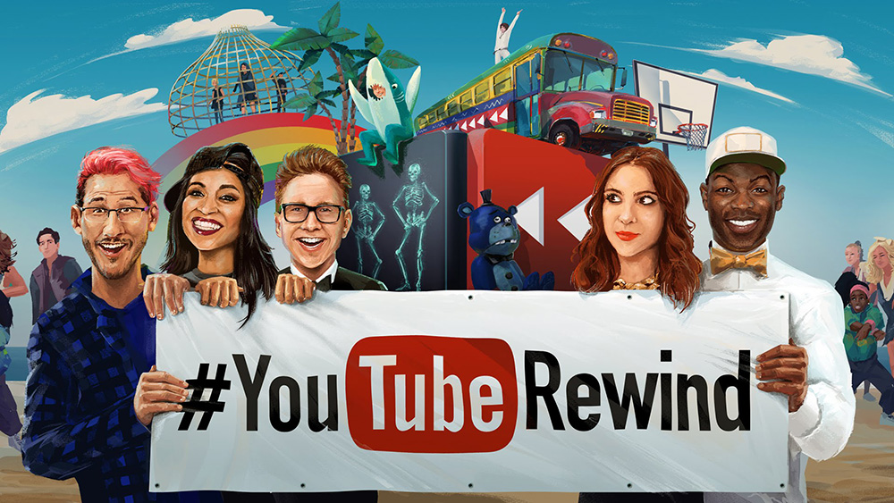 YouTube Rewind 2017 Biggest Hits