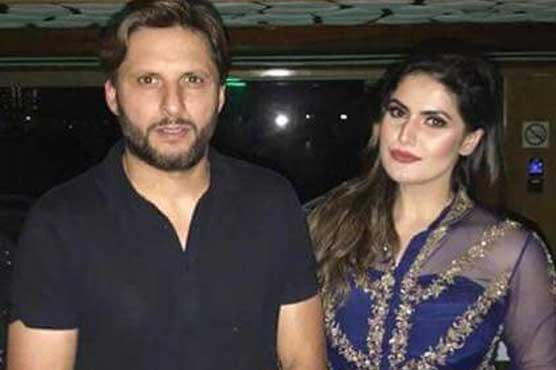Zareen Khan and Afridi Video on Social Media