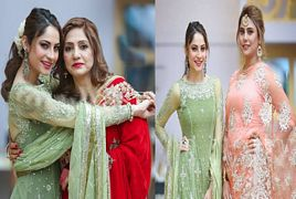 Neelam munir At Her Sister's Weeding
