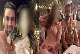 Shoaib Malik Taking Dinner With Beautiful Lady. Who's She?
