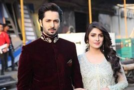 Ayeza Khan and Danish Taimoor Dresses in Recent Wedding