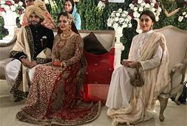 Geo News Anchor Rabia Anum Barat Ceremony