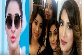 Actress Mehwish Hayat's Sister is Looking Like Kareena Kap