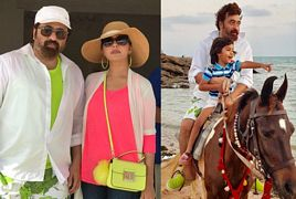 Nida Yasir Celebrating Vacations With Son And Husband