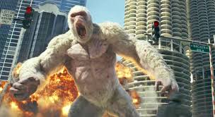 Release of Hollywood Movie, 'Rampage'