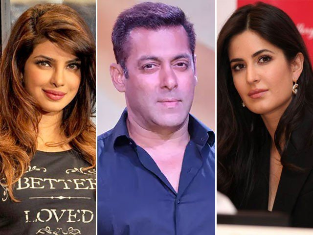Priyanka and Katrina Heroines of Salman Khan