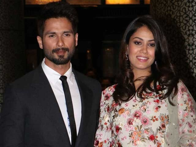 Shahid Kapoor and Meera Welcome New Baby