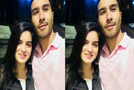 Feroze Khan With His Beautiful Wife Alizay Feroze Khan