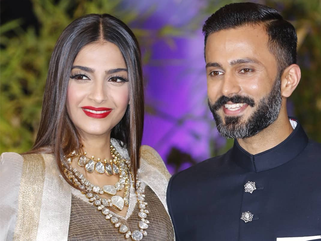 Reception of Sonam Anand: Stars Celebrated