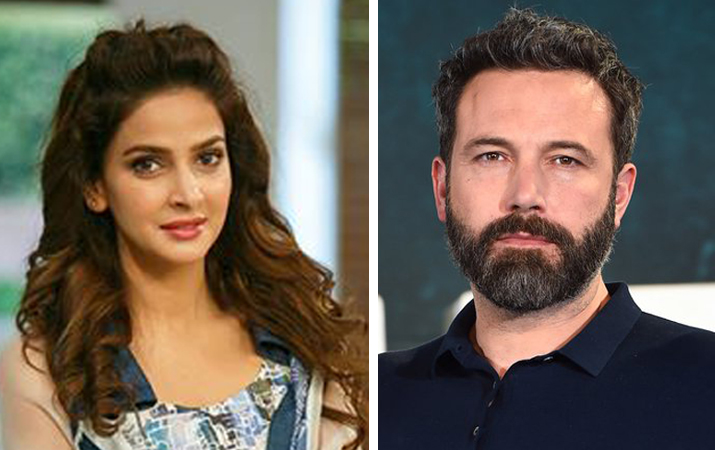 Saba Qamar Appear In Hollywood with Ben Affleck