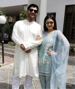 Sanam Jung Celebrating Eid With Family