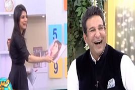 What Waseem Akram told About Reham Khan ?