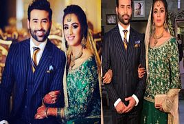 Faizan Sheikh And Maham Aamir Wedding (Walima)
