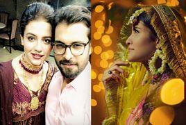 Zara Noor Abbas and Asad Siddiqui at Asad Sister's Walima