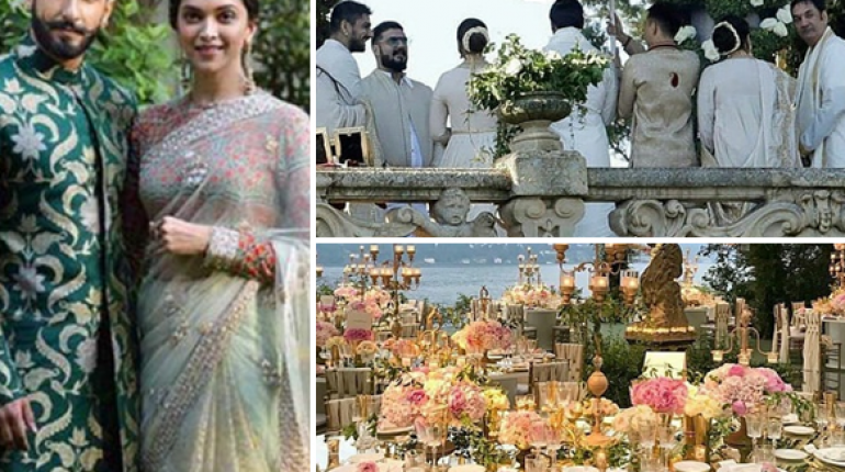 Ranveer & Deepika Wedding Pictures & Videos Exclusive