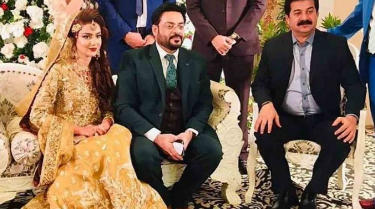 Aamir Liaquat Second Marriage Reception Pictures